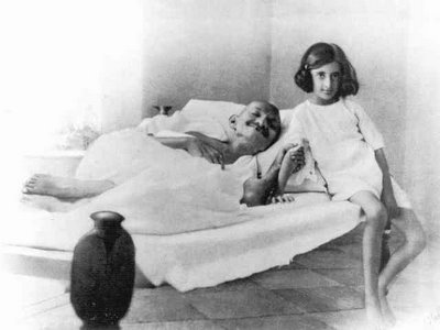 Gandhi with Indira Gandhi