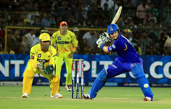 CSK vs RR in Jaipur
