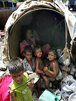 Indian poverty picture